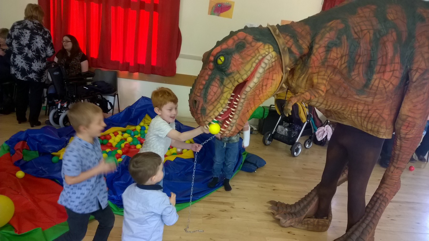 Dinosaur Party Greenock Inverclyde